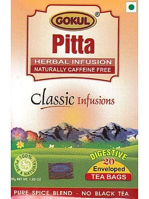 Pitta Herbal Infusions Naturally Caffeine Free: Classic Infusions