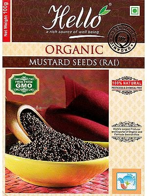 Organic Mustard Seeds (Rai)