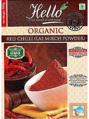 Organic Red Chilli (Lal Mirch Powder)