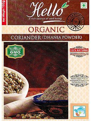 Organic Coriander (Dhania Powder)