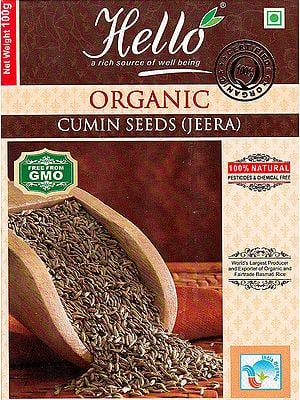 Organic Cumin Seeds (Jeera)