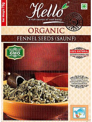 Organic Fennel Seeds (Saunf)