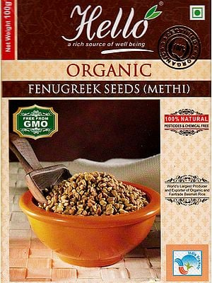 Organic Fenugreek Seeds (Methi)