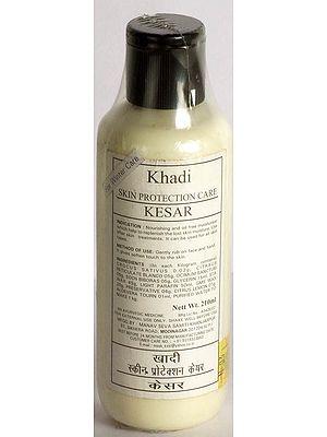 Khadi Skin Protection Care Kesar