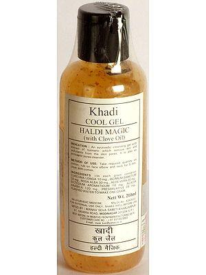 Khadi Cool Gel Haldi Magic (With Clove Oil)