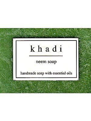 Khadi Neem Soap (Handmade Soap With Essential Soap)