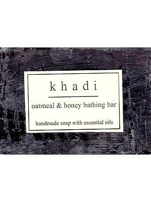 Khadi Oatmeal & Honey Bathing Bar