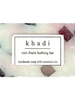 Khadi Mix Fruits Bathing Bar