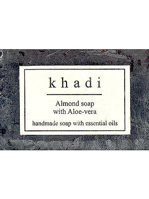 Khadi Almond Soap With Aloe Vera