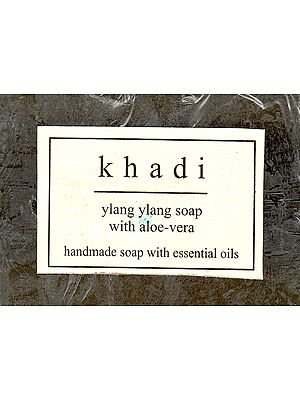 Khadi Ylang Ylang Soap With Aloe Vera
