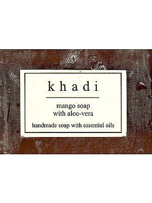 Khadi Mango Soap With Aloe Vera
