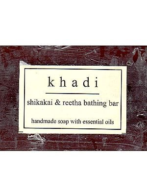 Khadi Shikakai & Reetha bathing Bar