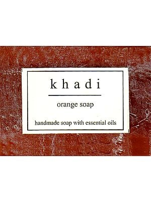 Khadi Orange Soap