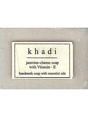 Khadi Jasmine Cheese Soap With Vitamin-E