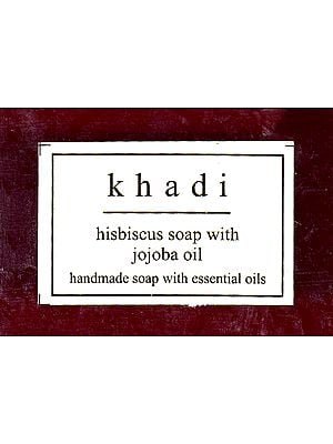 Khadi Hisbiscus Soap With Jojoba Oil