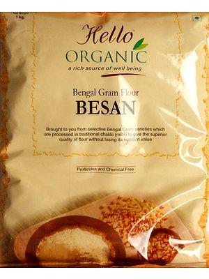 Organic Bengal Gram Flour Besan  (Bengal Gram Flour Besan)