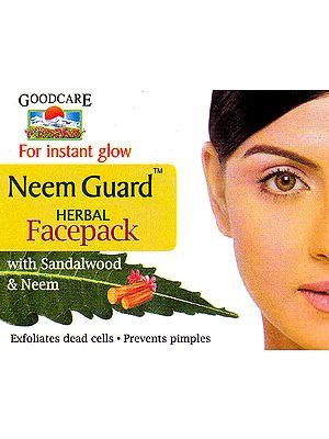 Neem Guard Herbal Facepack With Sandalwood and Neem