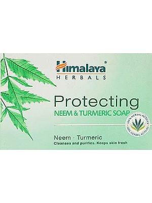 Protecting Neem & Turmeric Soap (3 Bar 125 gms Each)