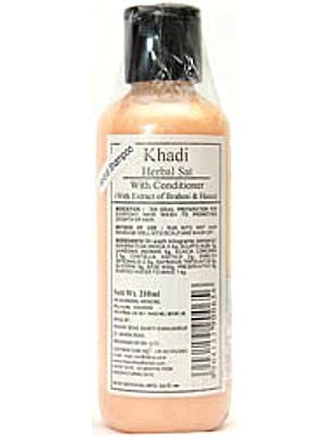 Khadi Herbal Sat With Conditioner (With Extract of Brahmi & Heena)
