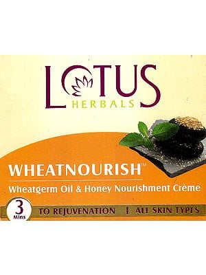 Wheatnourish Wheatgerm Oil & Honey Nourishment Crème