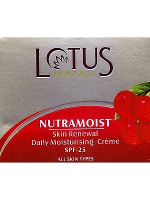 Nutramoist Skin Renewal Daily Moisturising Crème