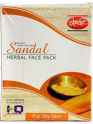 Sandal Herbal Face Pack