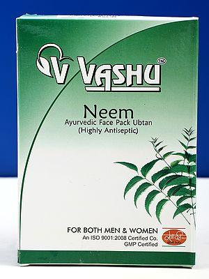 Neem Herbal Face Pack: Hill Queen Neem Herbal Ubtan