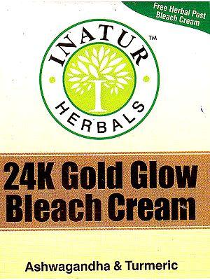 24K Gold Glow Bleach Cream