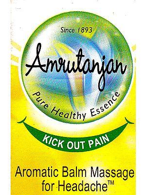 Amrutanjan: Aromatic Balm Massage