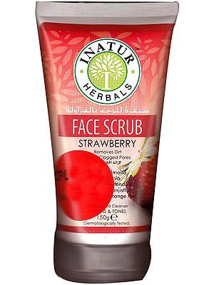 Face Scrub Strawberry