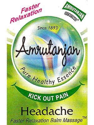 Amrutanjan: Faster Relaxation Balm Massage
