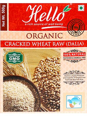 Organic Cracked Wheat Raw (Dalia)