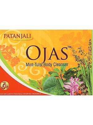 Ojas Mint-Tulsi Body Cleanser (Soap) (Price Per Pair)
