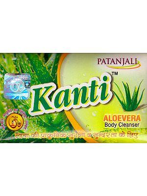 Kanti Aloevera Body Cleanser (Soap) (Price Per Pair)