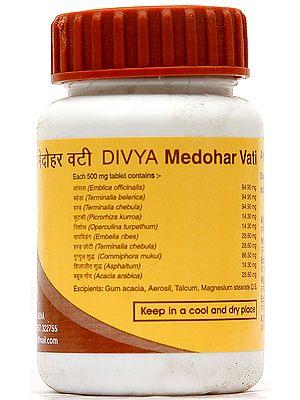 Divya Medohar Vati