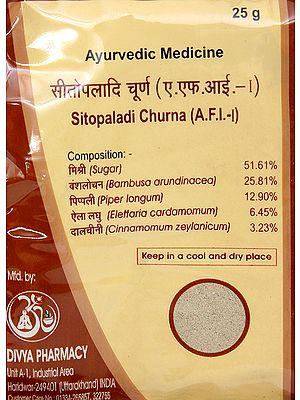Sitopaladi Churna (A.F.I. - I)
