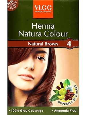 VLCC Henna Natura Colour-Natural Brown