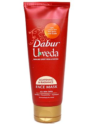 Dabur Uveda Lightening & Radiance Face Mask( All Skin Types)