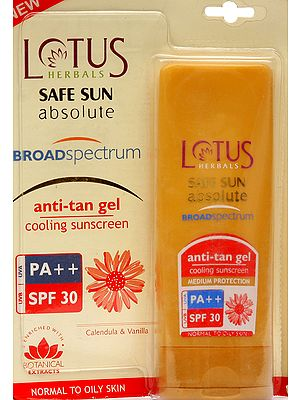 Lotus Herbals Safe Sun Absolute Broad Spectrum Anti-Tan Gel