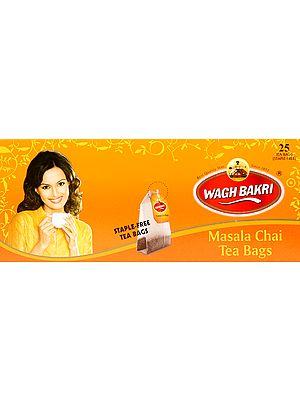 Wagh Bakri Masala Chai Tea Bags