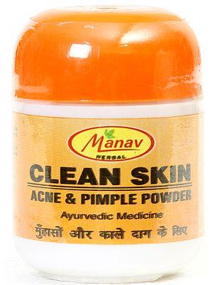 Manav Herbal Clean Skin (Acne & Pimple Powder)