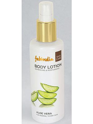 Fabindia Pack of Aloe Vera Moisturising Lotion Normal Skin & Aloe Vera Body Wash