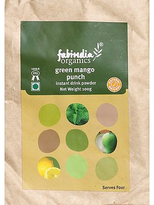 Fabindia Organic Green Mango Punch Instant Drink Powder