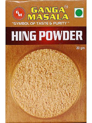 Ganga Masala Symbol of Taste & Purity Hing (Asafoetida) Powder