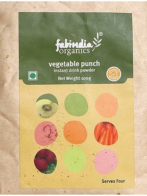 Fabindia Organics Vegetable Puch Instant Drink Powder
