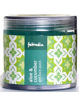 Fabindia Aloe & Cucumber Gel Face Pack