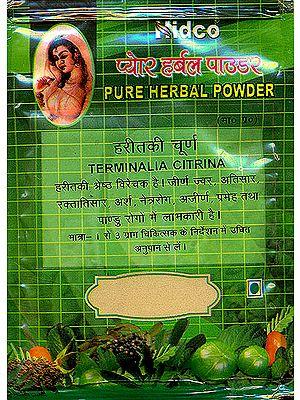 Haritki Pure Herbal Powder (Terminalia Citrina)
