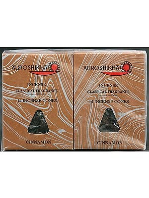 Auroshikha Incense Classical Fragrance 14 Incense Cones