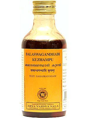 Balaswagandhadi Kuzhampu (Text: Sahasrayogam)