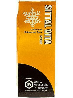 Sittal Vita A Platable Refrigerant Tonic Syrup